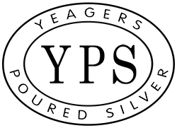 Yeager's Poured Silver | 330-299-5239